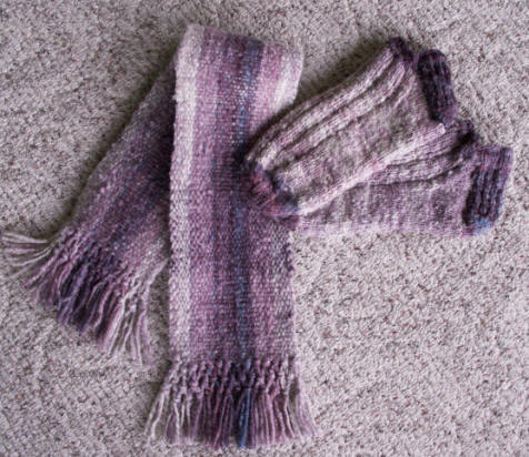 Babydoll scarf and slippers